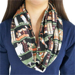 Cat-a-Log of Feline Fiction Infinity Scarf
