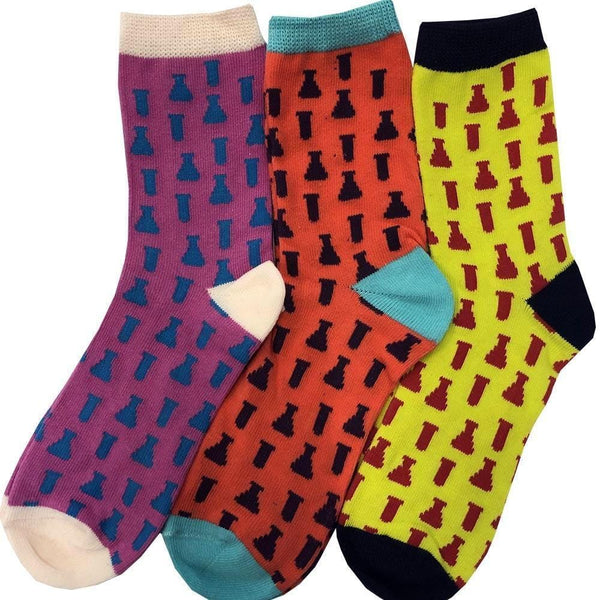 Chemistry Lover Kids Socks Bundle - 3-Pack - Svaha USA