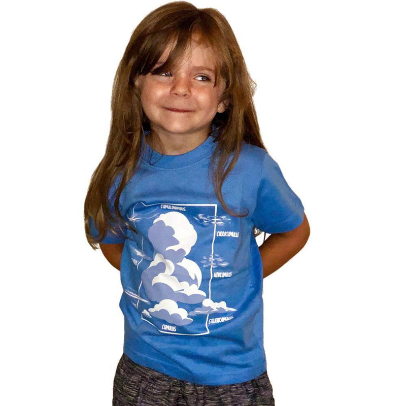 Cloud Types Kids T-Shirt - Svaha USA