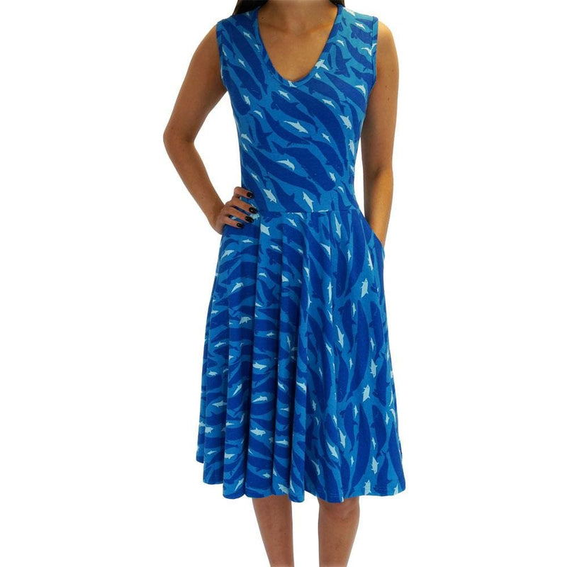 Dolphins and Whales Rita Dress