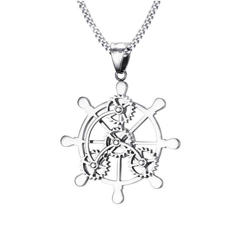 Atomic Sterling Silver Charm