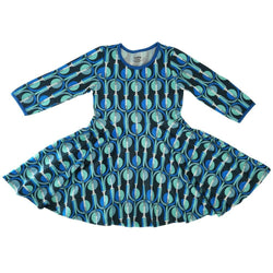 Rock It Into Orbit! Kids Twirl Dress [FINAL SALE]