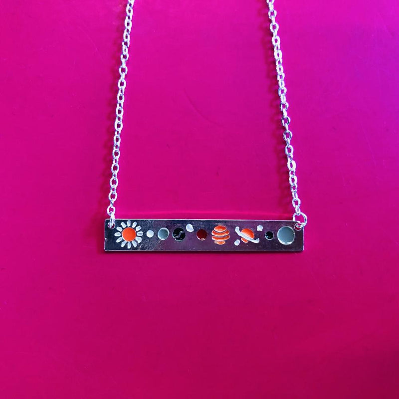 Solar System Pendant Necklace [FINAL SALE]