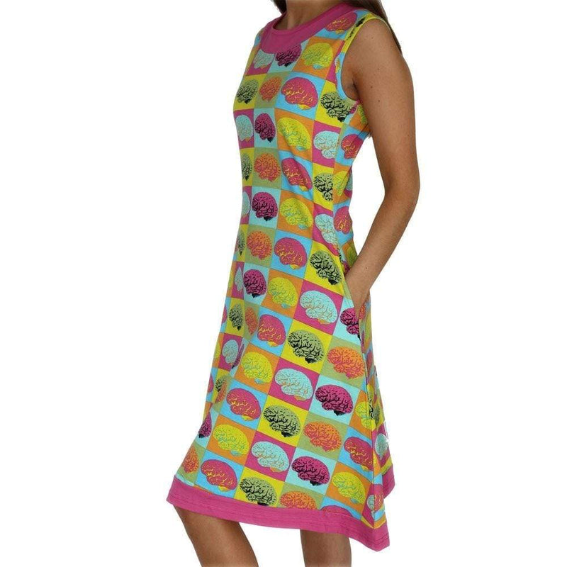 Warhol Brain Pop Katherine Dress