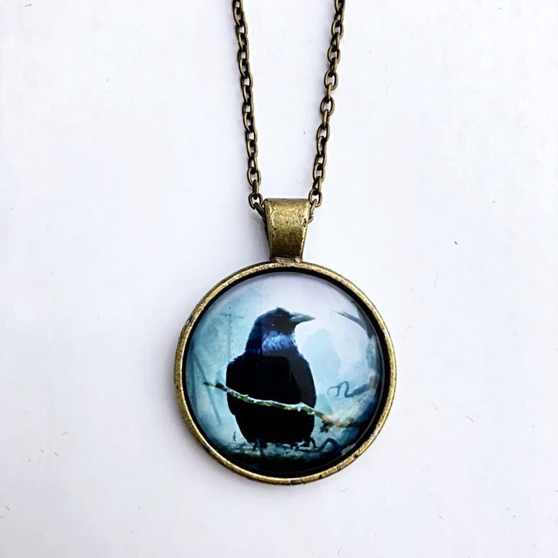 "Poe's ""The Raven"" Necklace"