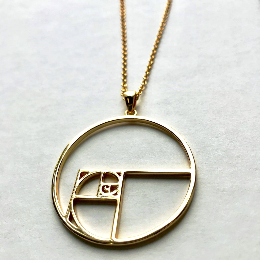 Gold Jewelry, Math Jewelry, Geek Jewelry, STEM Jewelry, STEM Necklace, Nerdy Gold Jewelry, Teacher Necklace - SVAHA USA