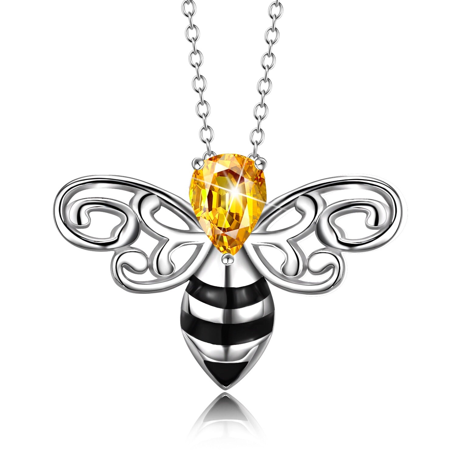 little products winged wing necklace