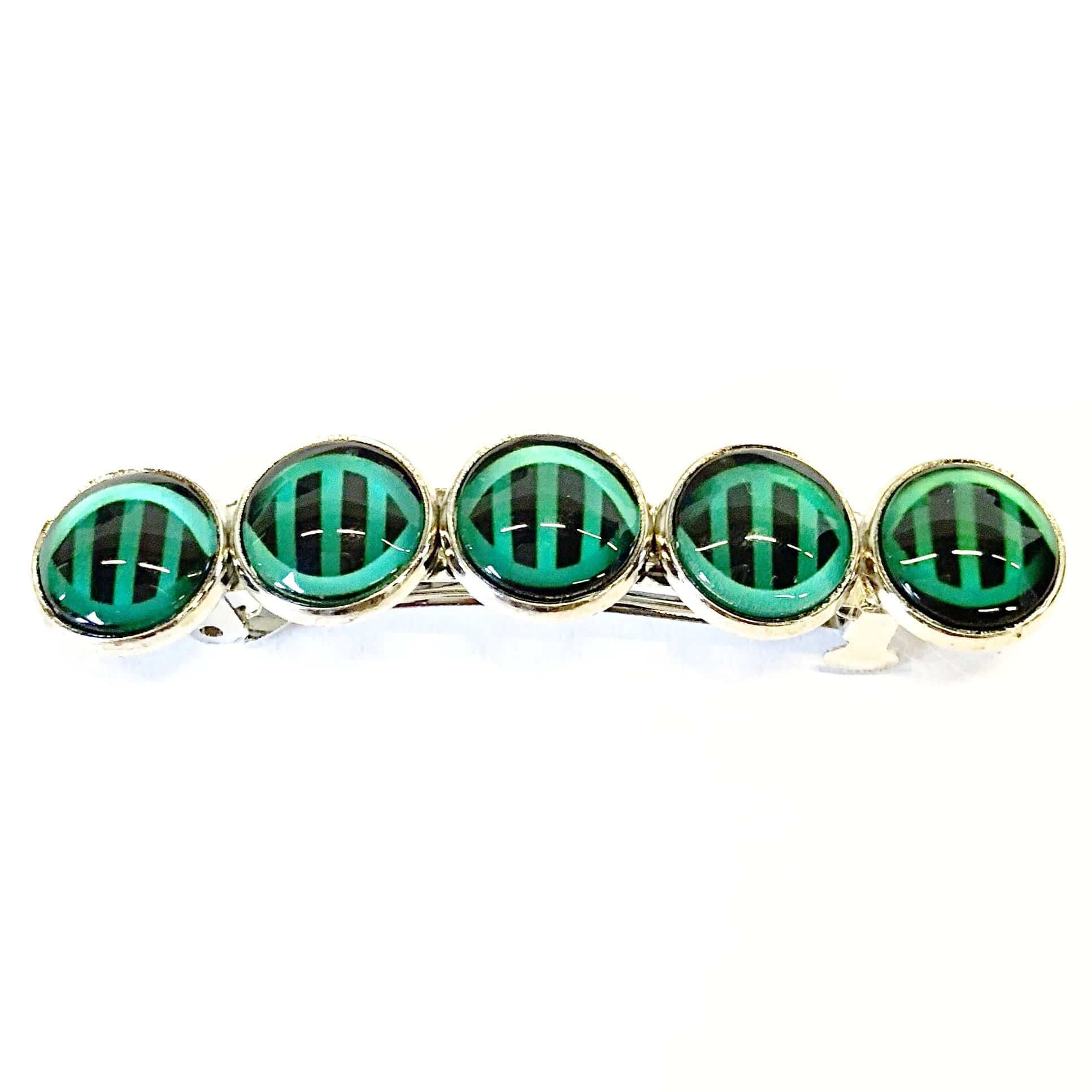 DNA Iconic Double Helix Stripes Barrette