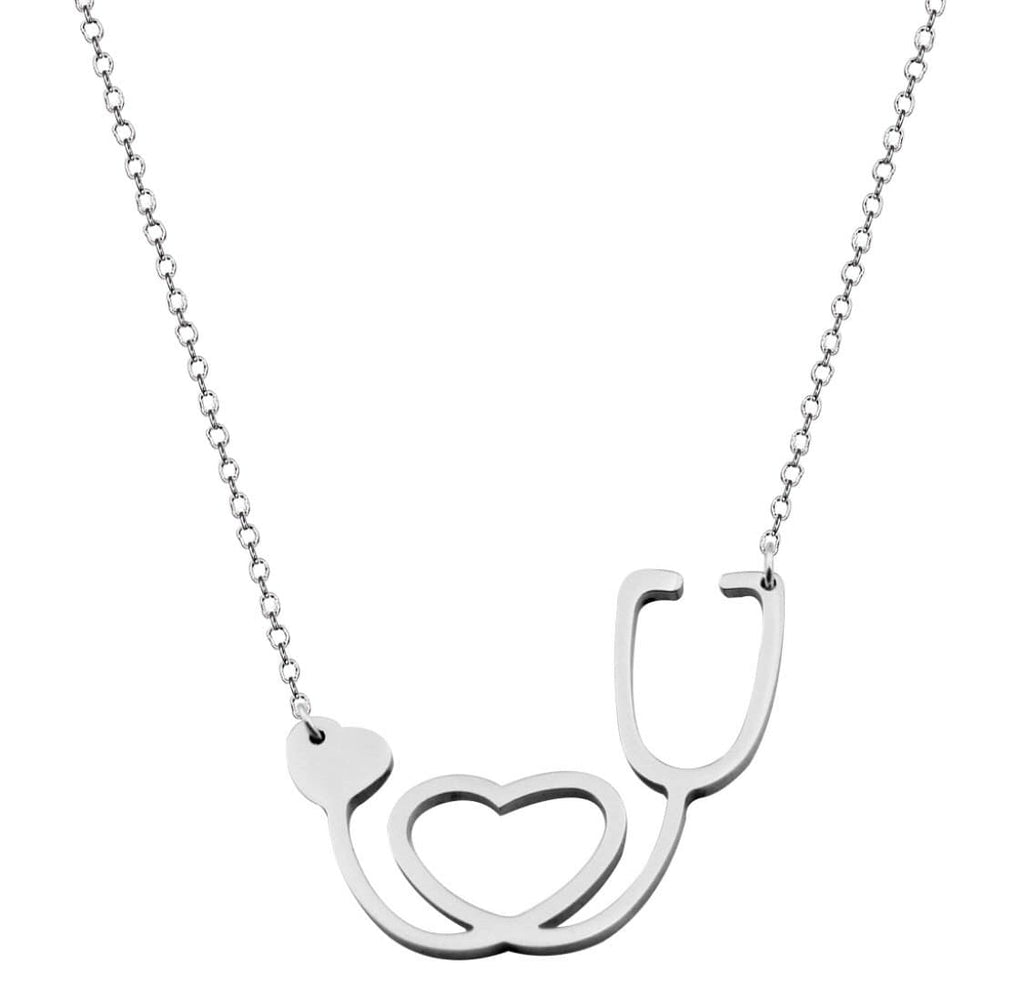 Stethoscope Love Necklace