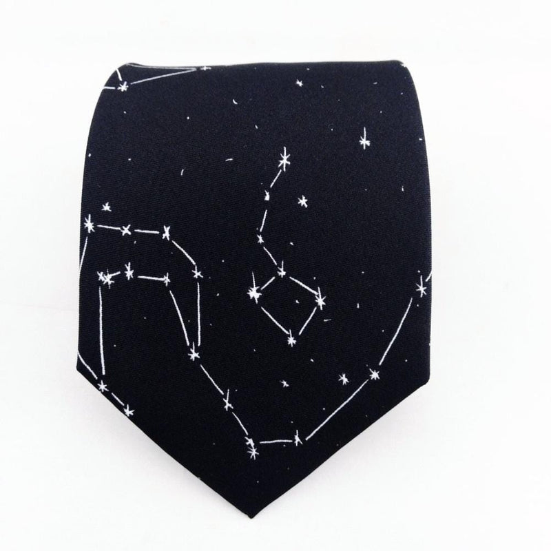 Constellations Silk Tie - Svaha USA