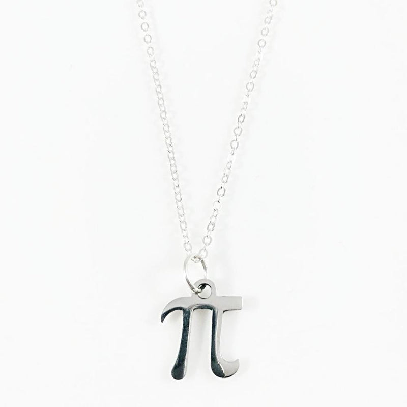 Pi Symbol Necklace - Svaha Apparel