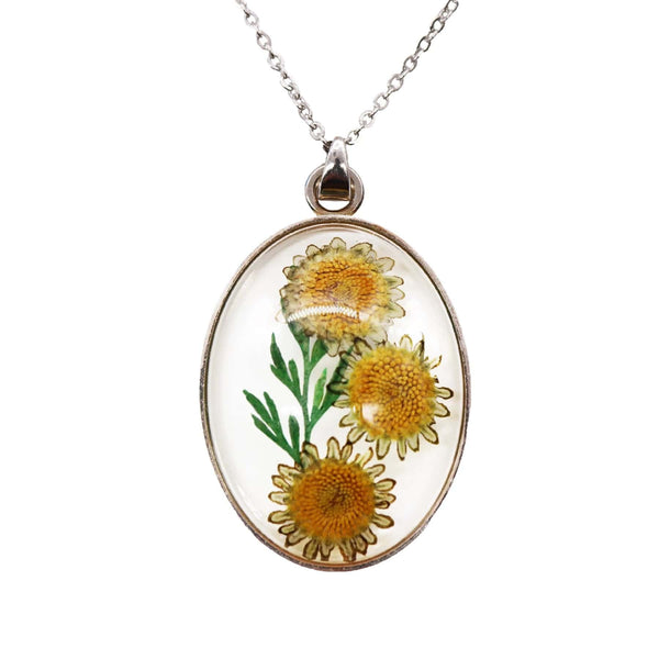 Van Gogh Sunflowers Necklace