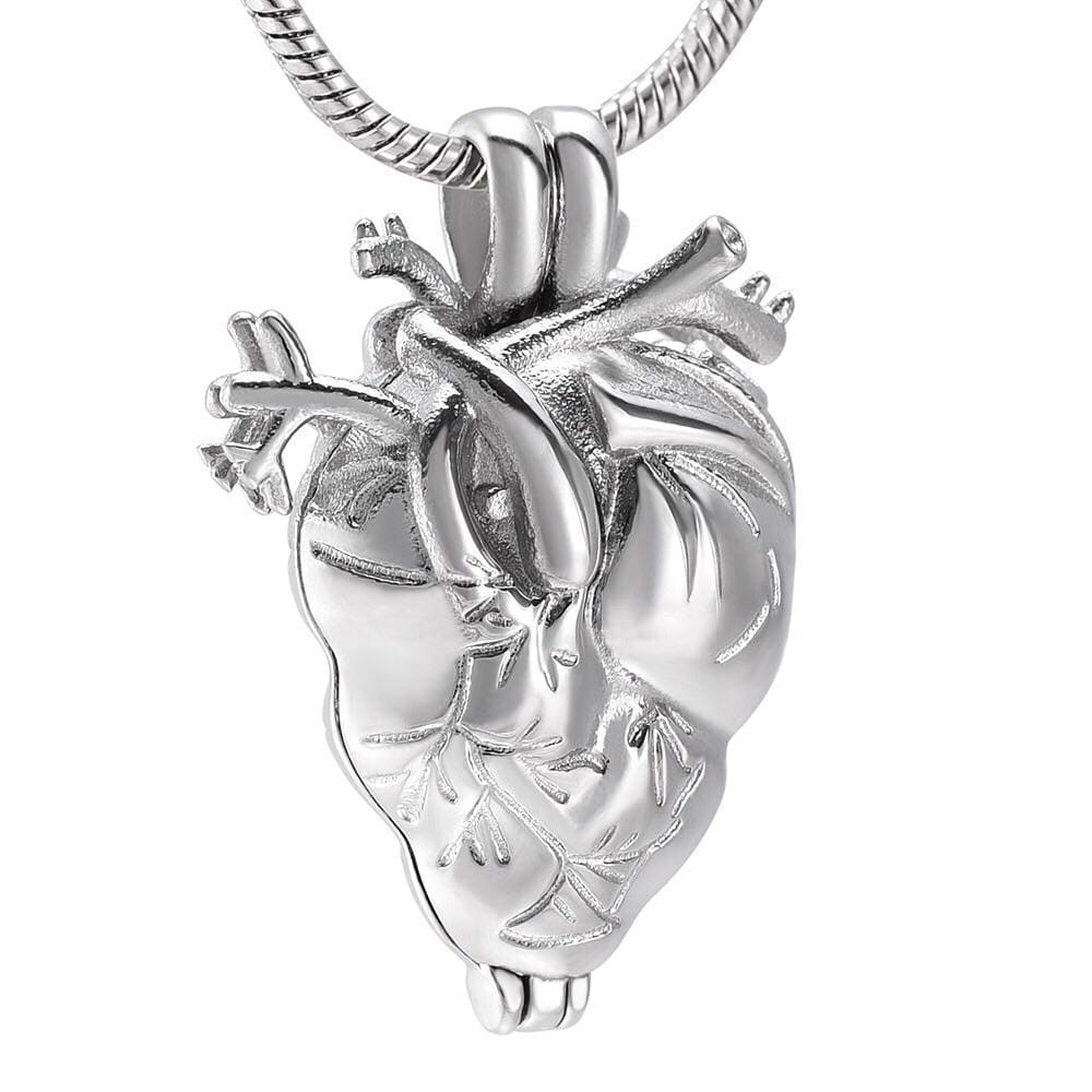 Message in an Anatomical Heart Locket - Svaha USA STEAM-themed products for Science, Technology, Engineering, Arts & Humanities, and Math!