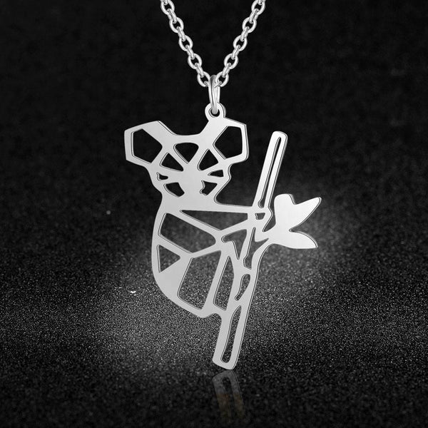 Marsupial Friend Silver Necklace