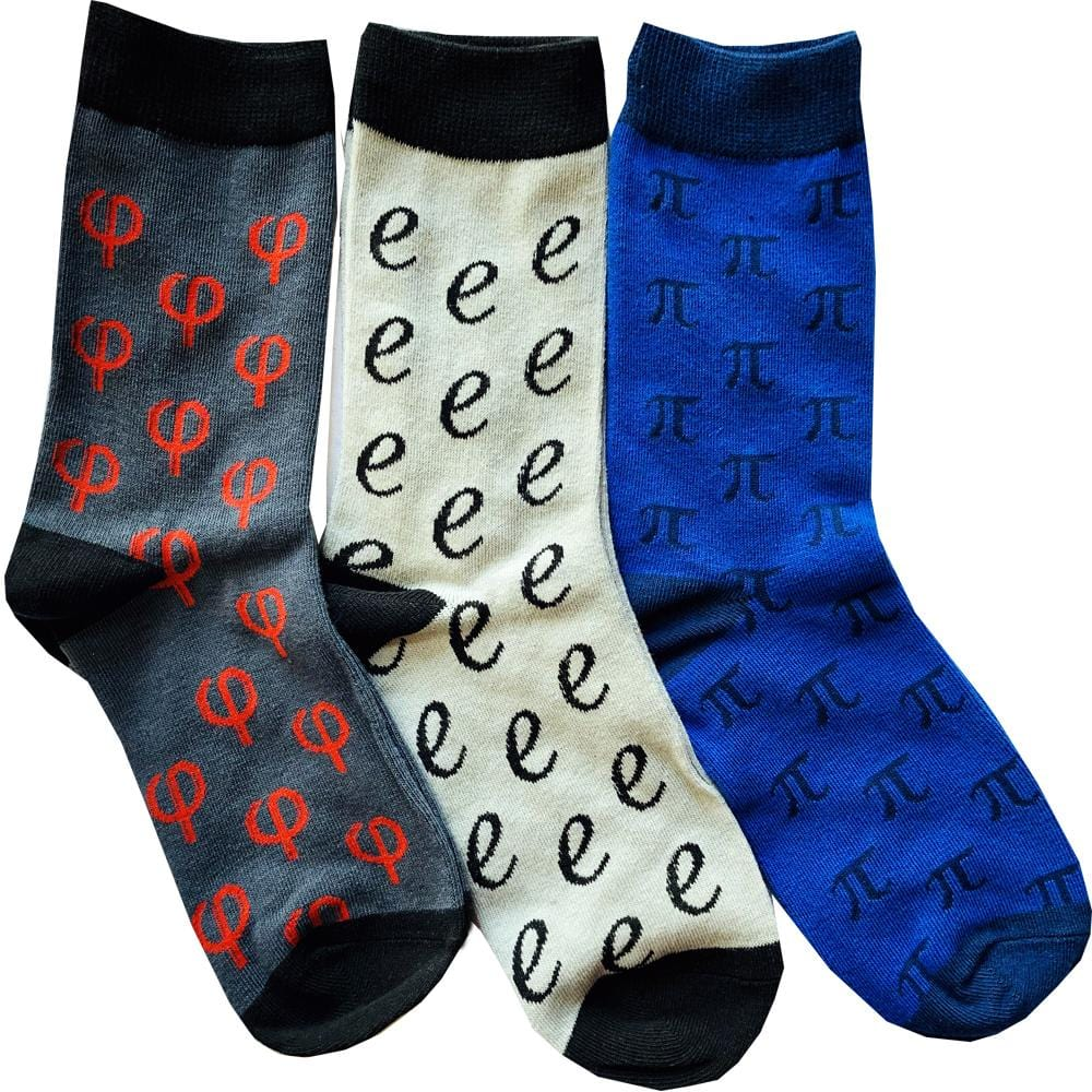Mathematical Constants Socks Bundle - 3-Pack