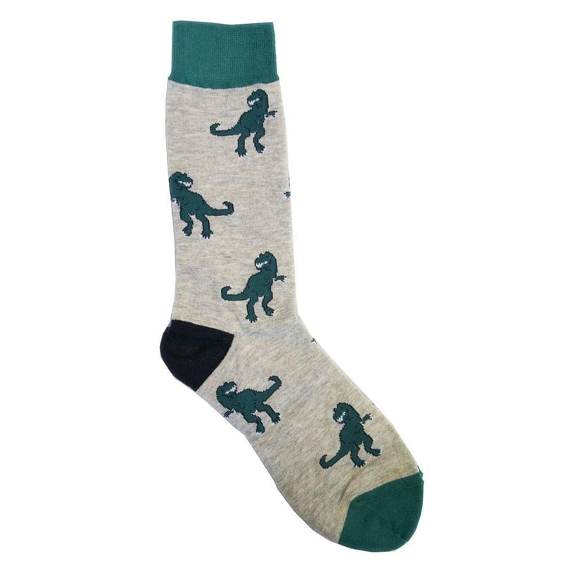 Tyrannosaurus Fierce Adults Socks