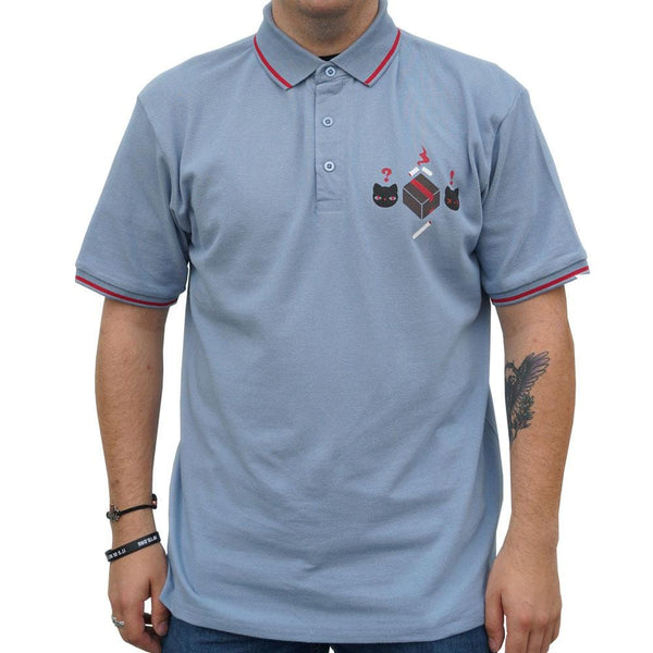 Schrödinger's Cat Unisex Adults Polo [FINAL SALE]