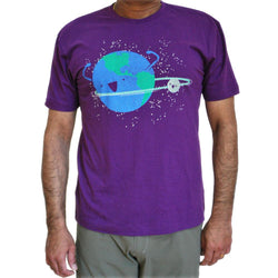 Hula Hoopin' Orbit Glow-in-the-Dark Unisex Adults T-Shirt