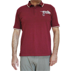 Augmented Reality: Dinosaur Fossil Unisex Adults Polo