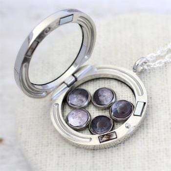Moon Phases Locket
