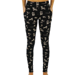 Paw-Some Yoga Pals Adults Cotton Leggings with Pockets (Pre-order)
