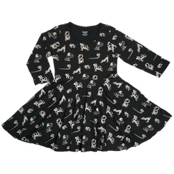 Paw-some Yoga Pals Kids Twirl Dress