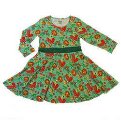 Pi Puns Kids Twirl Dress (Pre-order)