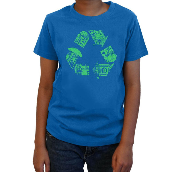 Recycle for Earth Kids T-Shirt [FINAL SALE]