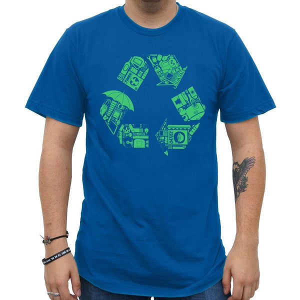 Recycle for Earth Unisex Adults T-Shirt