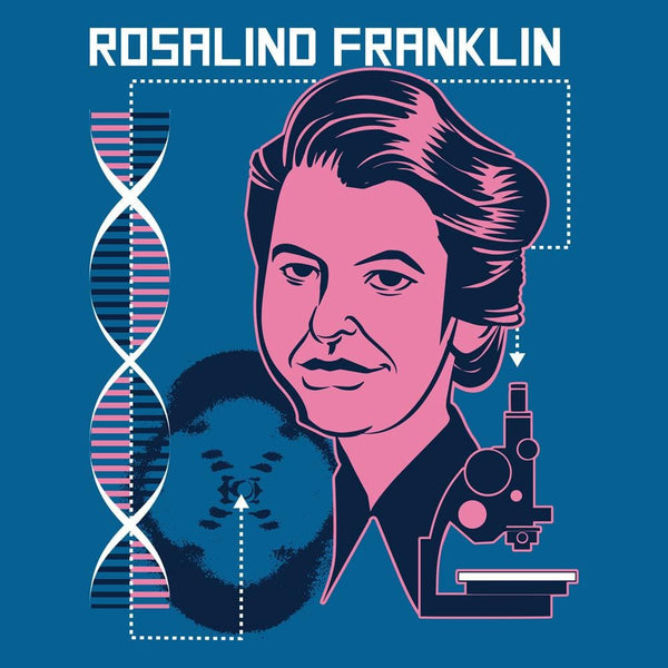 Rosalind Franklin Raglan Top