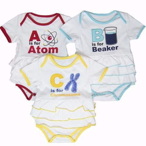 Geek Baby Clothing, Girl Baby Clothing, STEM Baby, Science Baby Onsies - SVAHA USA