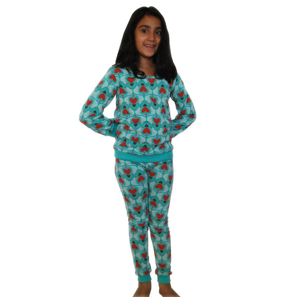 For the Love of Narwhals! Kids Pajamas Set