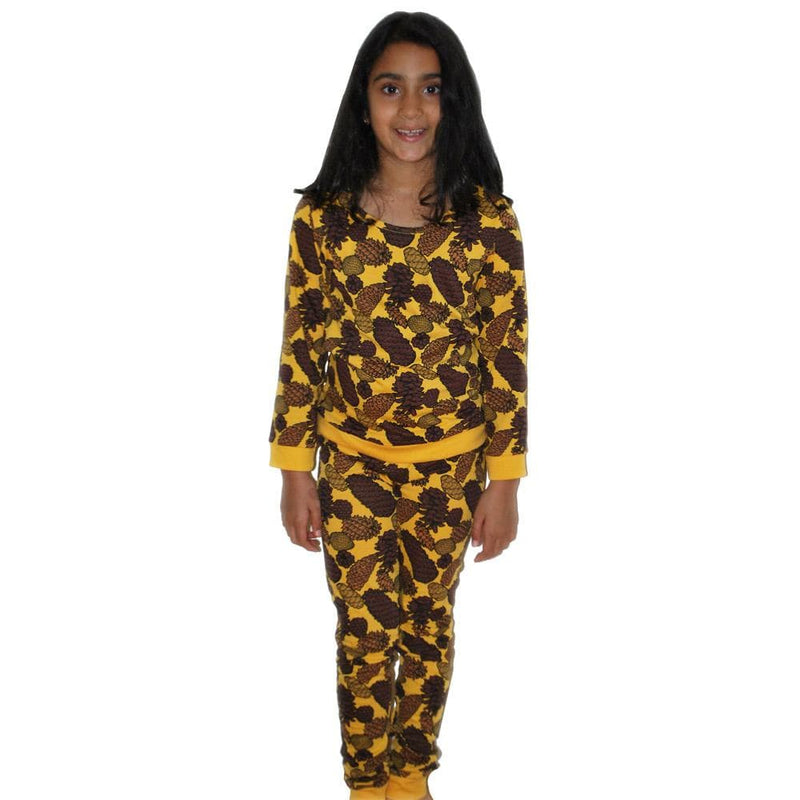 Pine Cones Kids Pajamas Set
