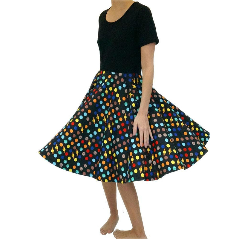 Solar System of Pi Rachael Dress
