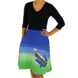 Hubble Space Telescope Ombré Ada Dress [FINAL SALE]