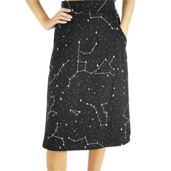 Constellations Glow-in-the-Dark A-Line Skirt