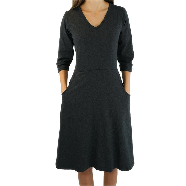 Rosalind Fit & Flare Dress with Pockets