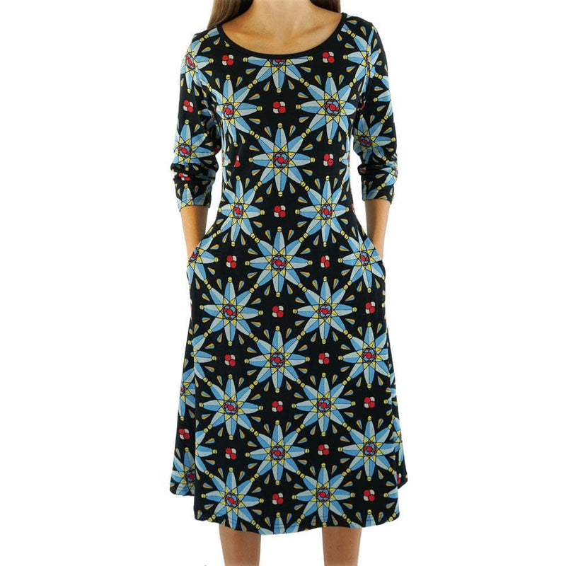Atomic Stained Glass Window Katherine Dress