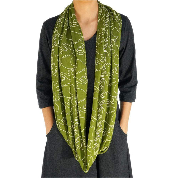 Fly Into Fantasy Infinity Scarf