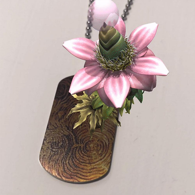 Augmented Reality: Reforestation of the Imagination Necklace [FINAL SALE]