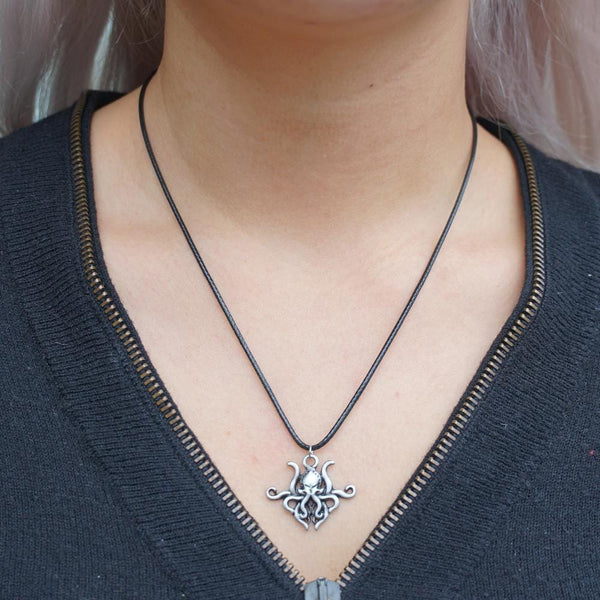 Cthulhu Cord Necklace