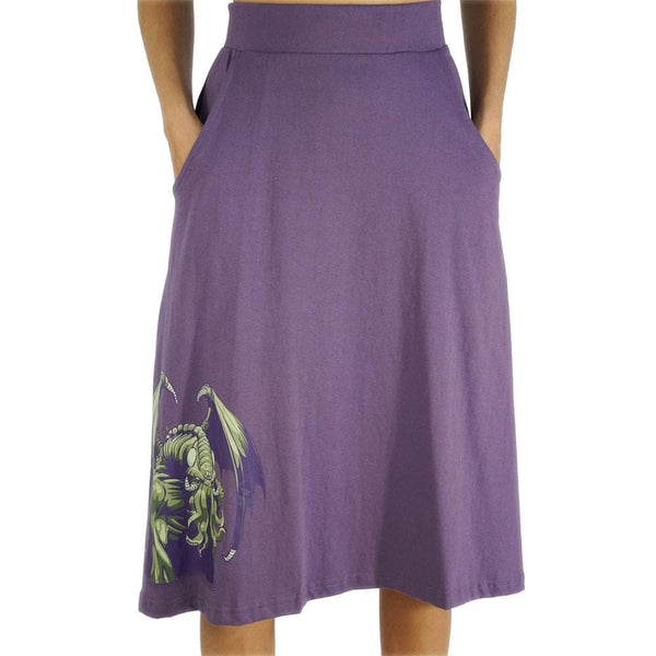 Cthulhu Awakens A-Line Skirt