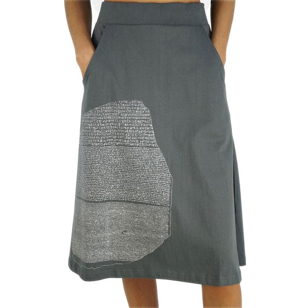 Relic of Rosetta Slab A-Line Skirt