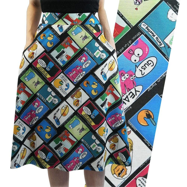 Amoeba Sisters A-Line Skirt [FINAL SALE]