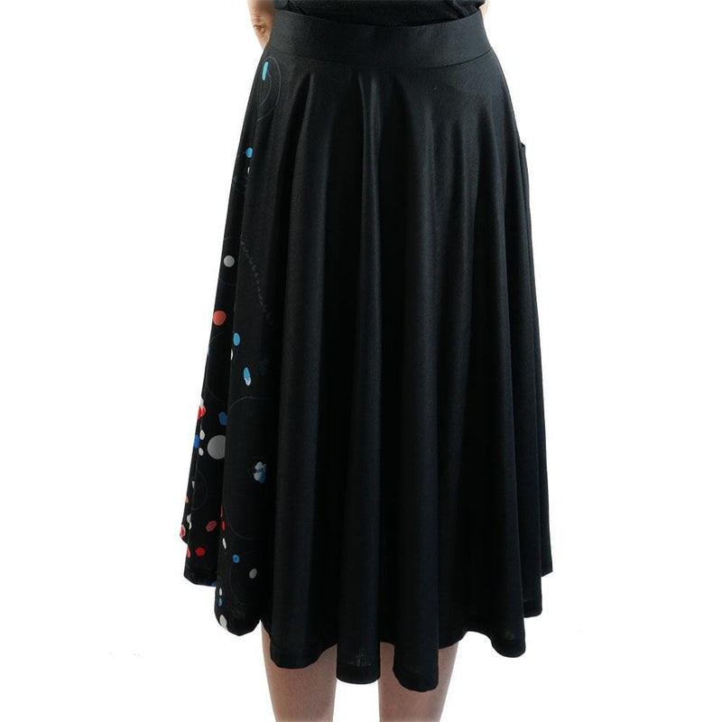 Far Away Galaxy Array Twirl Skirt