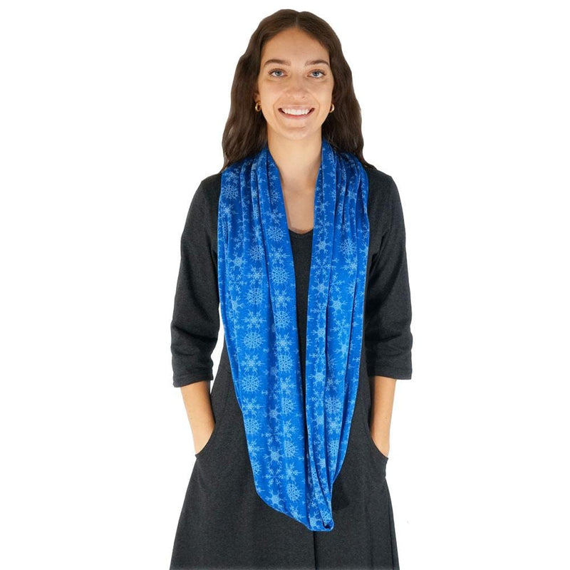 Snowflake Fractals Infinity Scarf