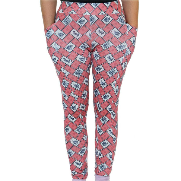 Wonderland Adults Leggings With Pockets