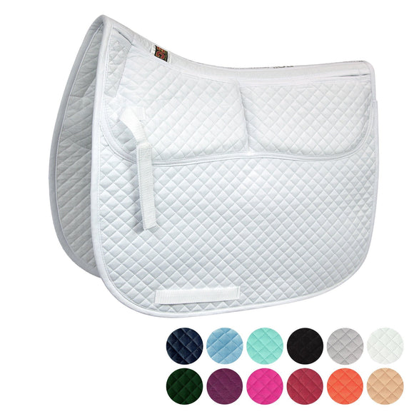 Cotton Correction Dressage Pad - Saddle Pads - Equine Comfort Products