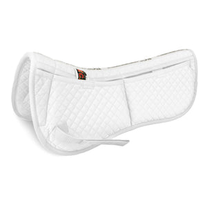 Cotton Correction Half Pad - Cotton Saddle Pads - Equine Comfort Products