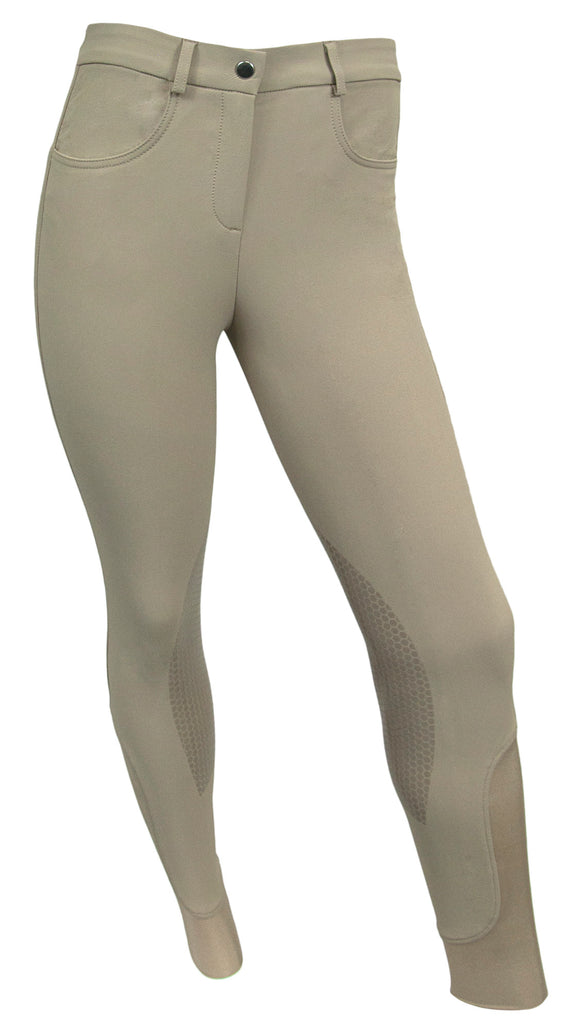 RideTex™ Knee Patch Competition Breeches - Tan